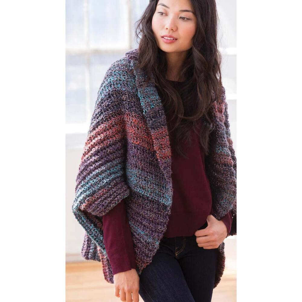 Lion Brand Devondale Shrug Crochet Yarn Kit