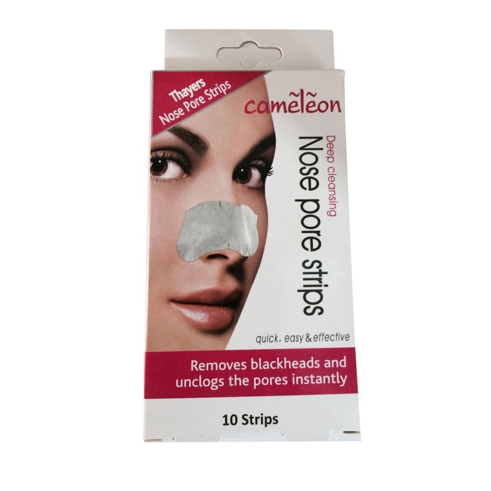 6 x Nose Pore Strips Deep Cleansing Remove Blackheads & Unclogs pores Instantly Cameleon