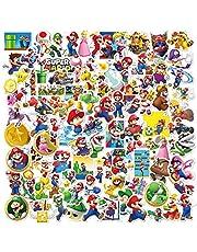 Super Mario Cartoon stickers, vinylstickers voor jongeren en kinderen, anime-autostickers voor skateboards, telefoon, laptop, motorfiets, fietstas