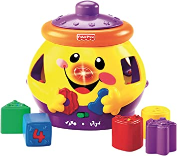 Fisher-Price Galleta sorpresa aprendizaje, juguete para bebé +6 ...