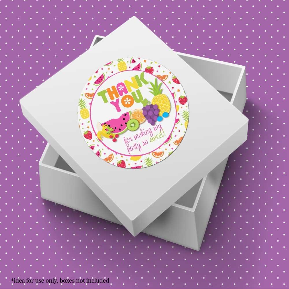 Amazon.com: Tutti Frutti. Fiesta de cumpleaños gracias ...