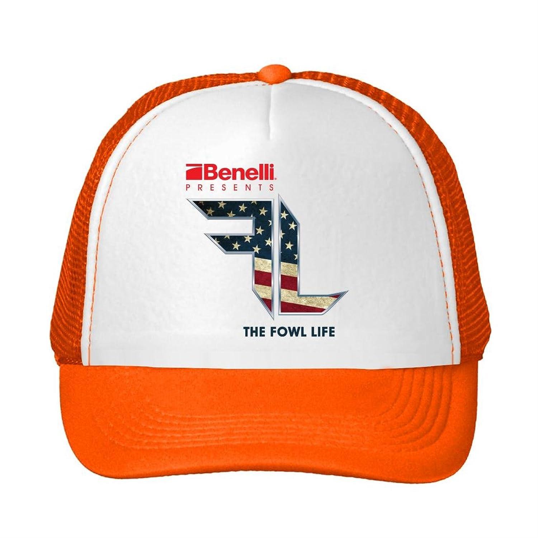 Woman Men Cotton 2016 Benelli Art Digital Logo Adjustable Mesh Hats