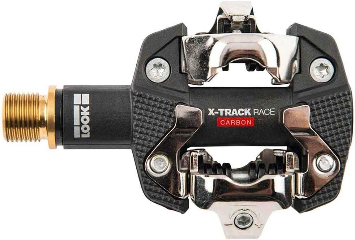 NEW Look X-TRACK RACE CARBON TI Titanium MTB Mountain Bike Clipless Pedals
