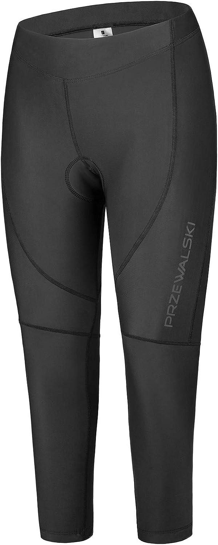 Przewalski Women Premium 4D Padded Breathable Cycling Tights, Women's Cycling Pants Breathable & Quick Dry