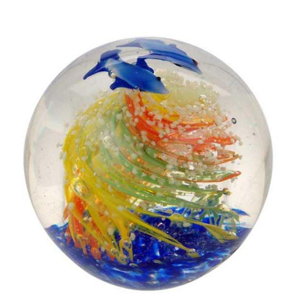 Palla di vetro Desiderio Boule 7cm decorazione del vetro sfera di vetro Sogno sfera fermacarte