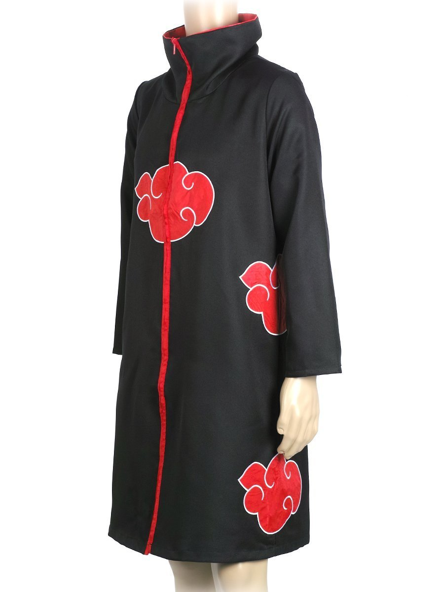 COSAUG Japanese Amine Akatsuki Costumes with Collar (XL) by COSAUG (Image #1)