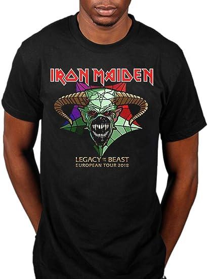 AWDIP Oficial Iron Maiden Legacy of The Beast Tour T - Shirt: Amazon.es: Ropa y accesorios
