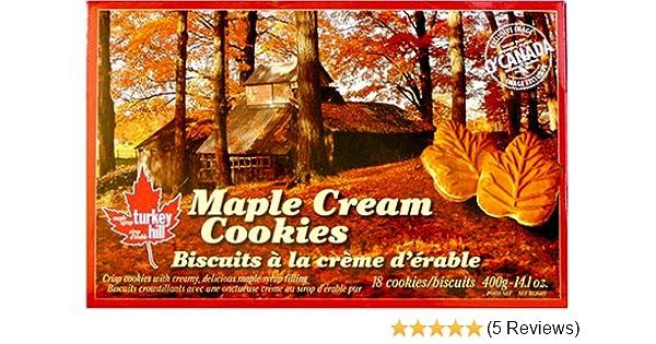 Maple Cream Cookies 18 Cookies Per Box 14 Oz Of Pure Canadian Flavor