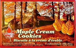 Maple Cream Cookies (18 Cookies Per Box - 14 Oz of Pure Canadian Flavor)