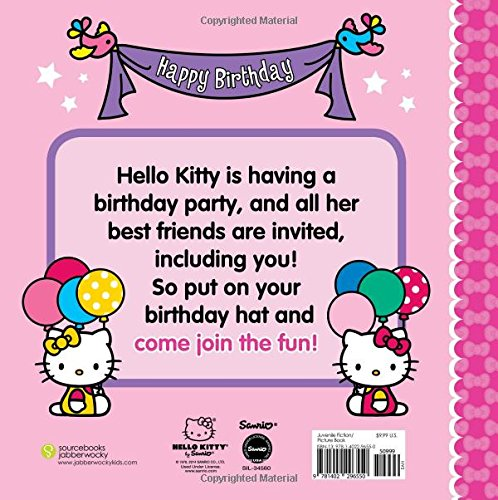 happy birthday hello kitty me sanrio 9781402296550 amazon com