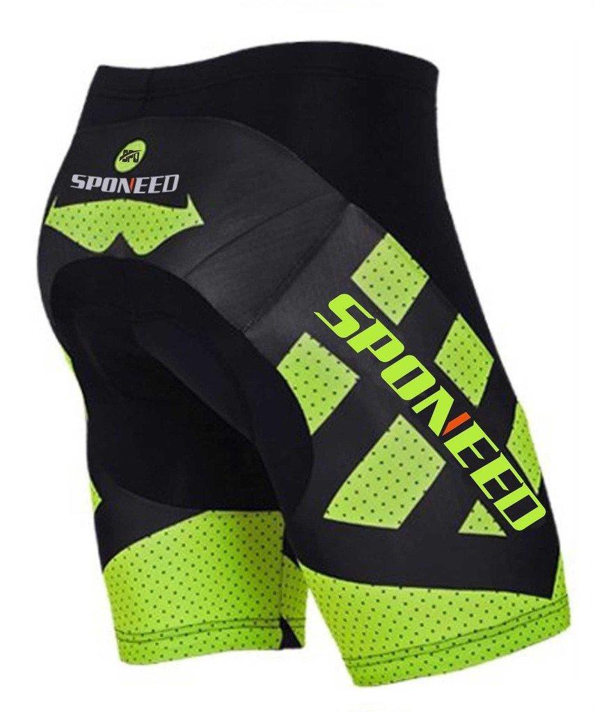 Men/'s Bicycle 4D GEL Padded Shorts Riding Cycling Short Pants Biker Tights