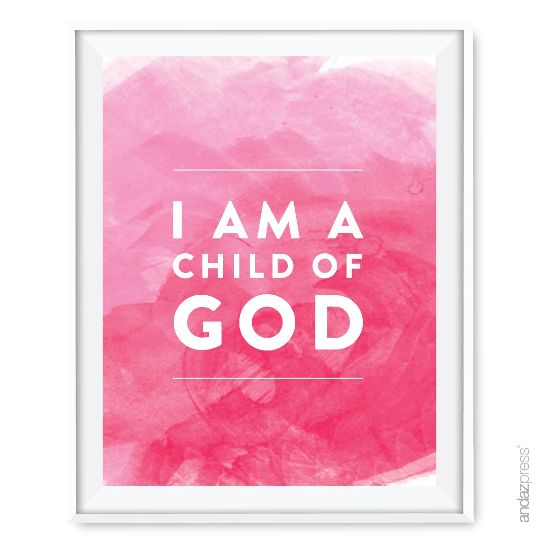 Amazon.com: Andaz Press Religious Nursery Wall Art, Goddaughter, 1 ...
