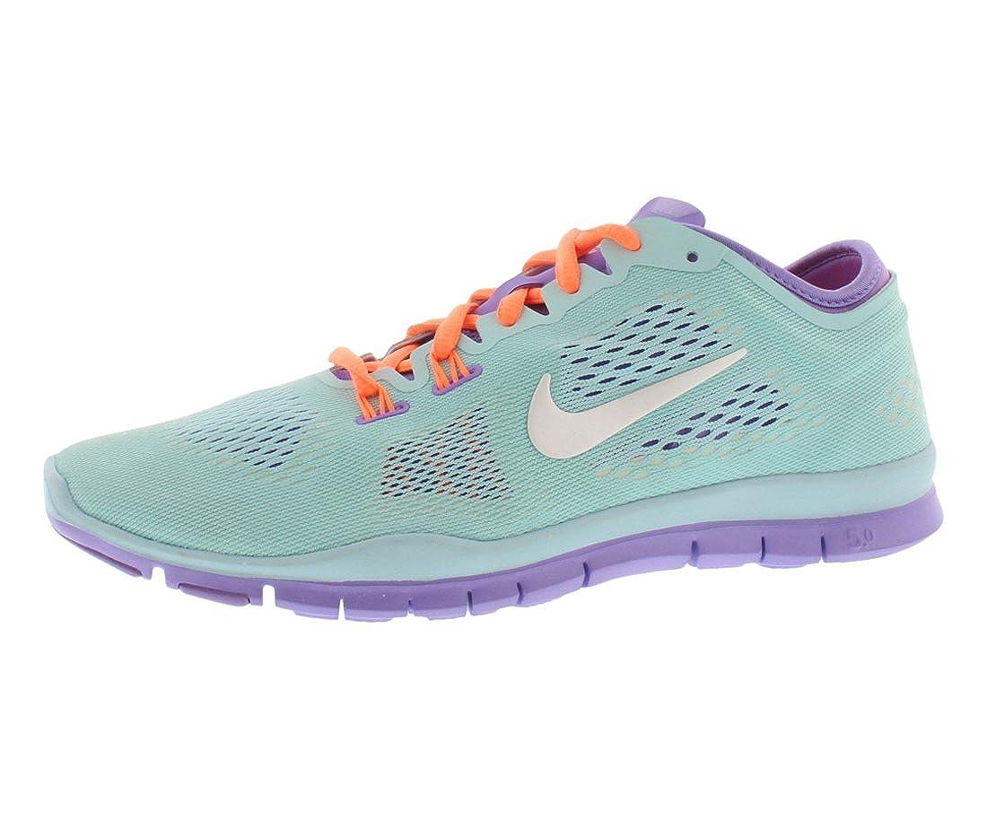 sale retailer 4abbb 76524 Amazon.com   NIKE Women s Free 5.0 TR Fit 4 Cross-Training Shoes - Size  5, Glacier  Ice white   Fitness   Cross-Training