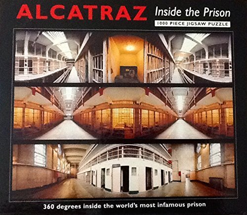 Alcatraz: Inside the Prison 1000 Piece Puzzle ~ Golden Gate National Conservancy from Golden Gate