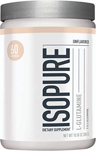 Isopure Glutamine Powder 300g, Unflavored