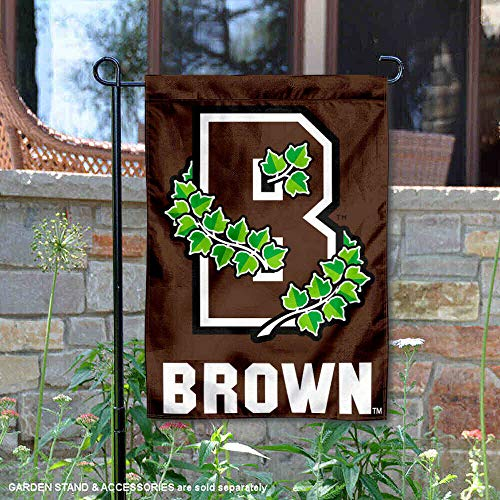 (College Flags and Banners Co. Brown University Athletic Logo Garden Flag)