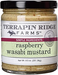 product image for Terrapin Ridge Farms Raspberry Wasabi Mustard, 8.5 Ounce, Pack of 1