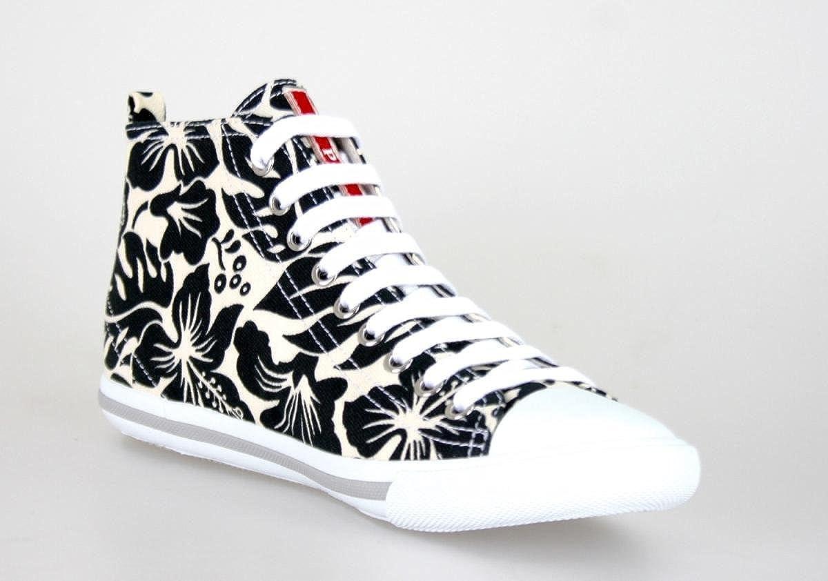 Femme Chaussures Sneakers Baskets Hautes Prada AIdxOO