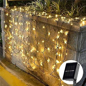 Innootech 200er Led Solar Lichterkette Garten Außen Licht Warmweiß