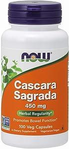 NOW Cascara Sagrada 450 mg 100 Capsules