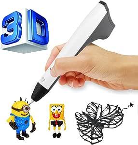 ACTOPP 3D Pluma Inteligente 3D Pen 3D Lapiz 3D Bolígrafo 4ª ...