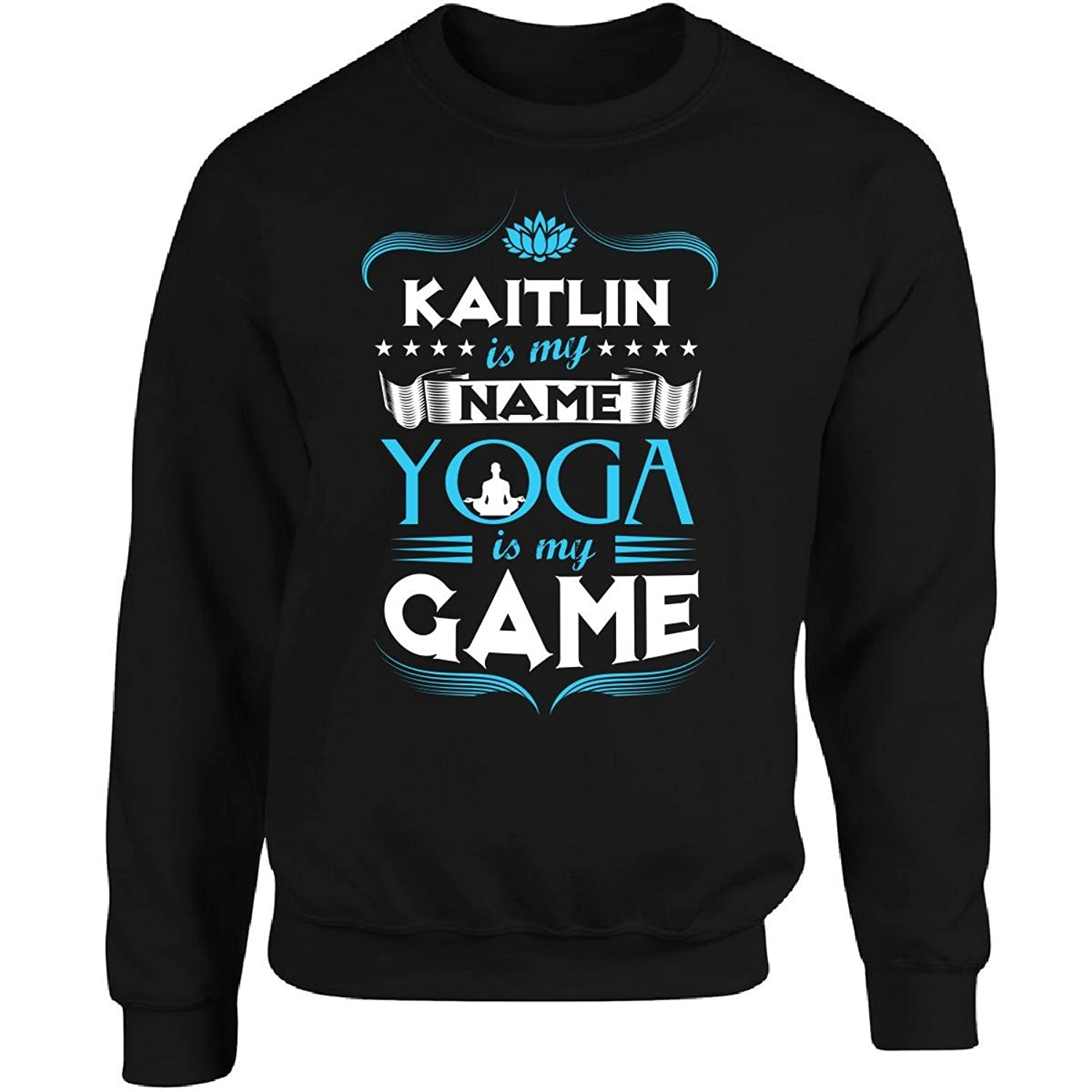 Amazon.com: Kaitlin My First Name Yoga My Game Yoga Teacher ...