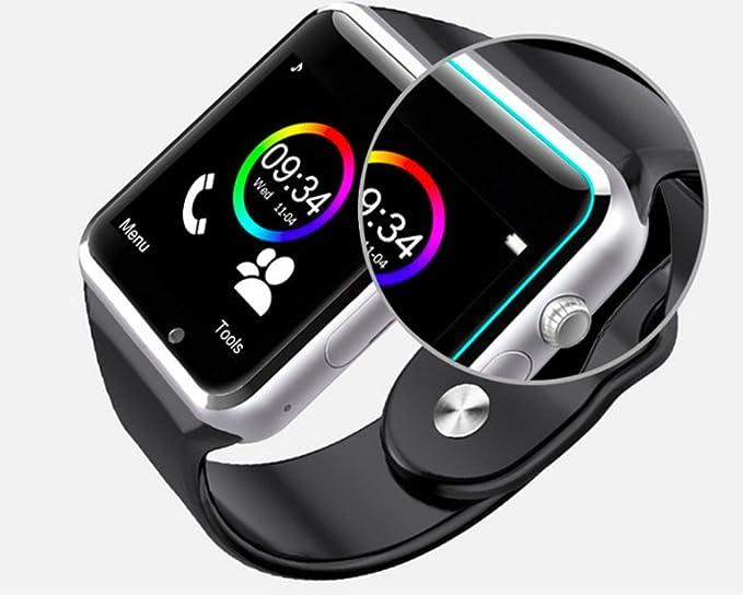Conectado Reloj para Smartphone Android, Apple iOS y Windows ...