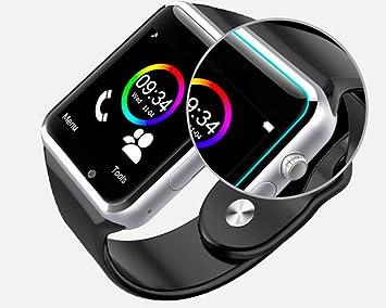 Montre Connectée Smartwatch pour Smartphone Compatible, Android Apple iOS Windows Bluetooth 4.2 Montre Intelligente avec