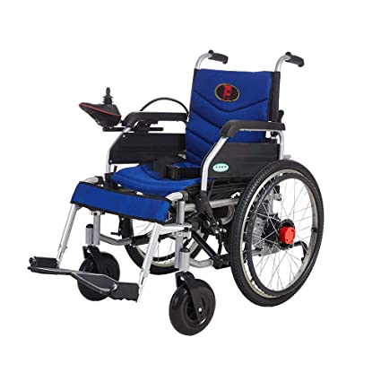 Hw Ⓡ Wheelchair Silla de Ruedas, Silla de Ruedas eléctrica Manual,