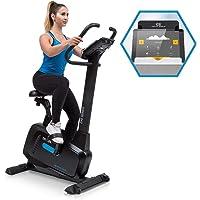 Capital Sports Evo • Cardiobike • Vélo d'appartement • Bluetooth • 32 Niveaux de résistance magnétique • Appli Kinomap • Volant d'inertie jusqu'à 21 kg • Support de Tablette • Capteur de pouls