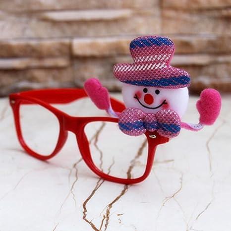 homee christmas gifts christmas adult children frame glasses christmas decorationsa14 19
