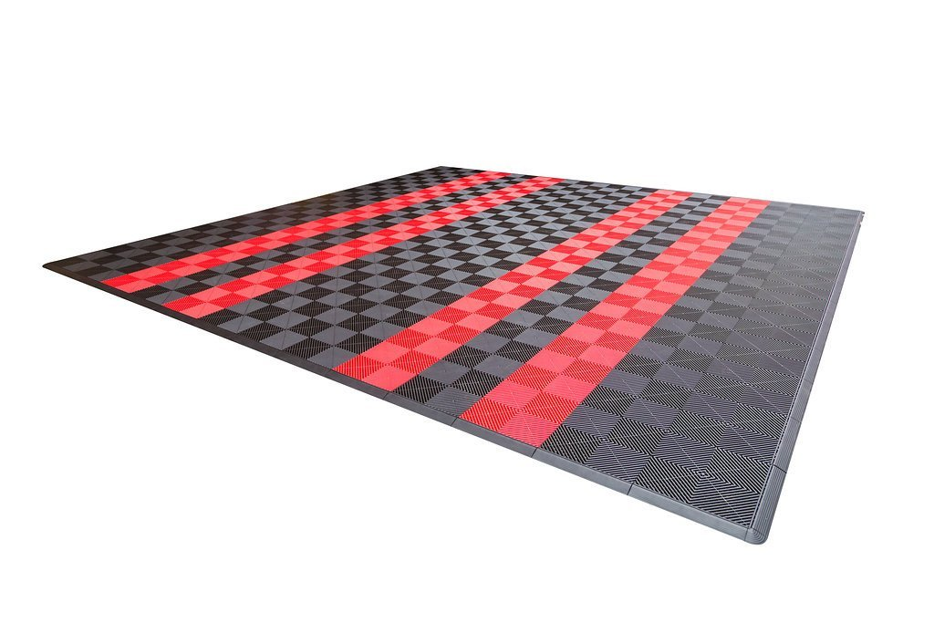 Dodge Double Car Parking Pad by Ribtrax - Pad Design 3