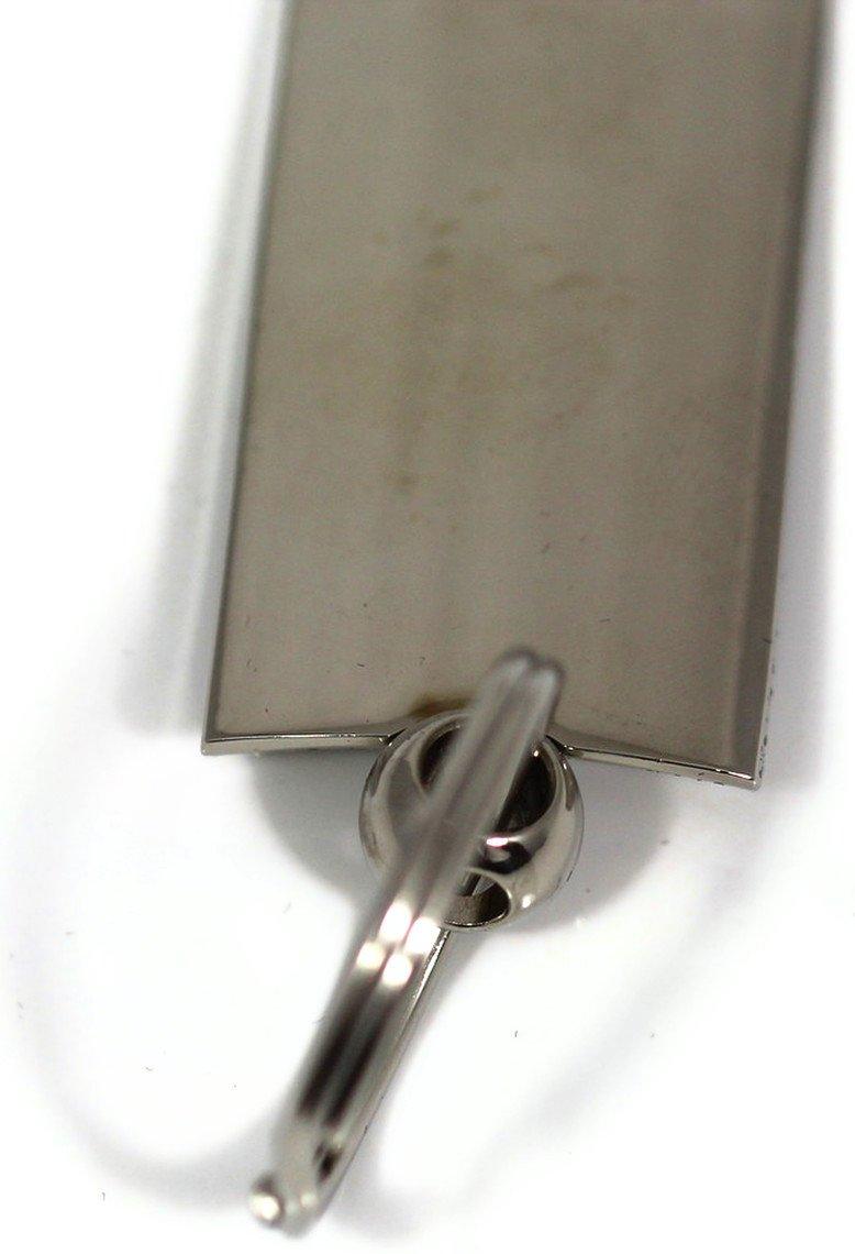 Mazda Rectangular Wave Blue Key Fob Authentic Logo Key Chain Key Ring Keychain Lanyard