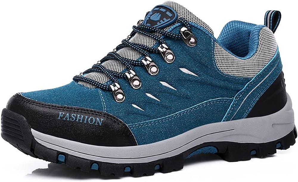Easondea Chaussures de Randonn/ée pour Hommes Femmes Bottes de Randonn/ée Unisexe Chaussures de Marche en Plein Air Bottes Antid/érapantes Trekking et Les Promenades