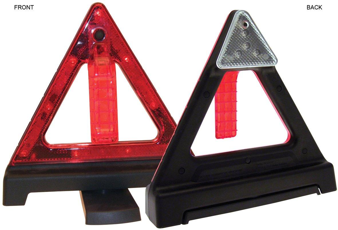 CAR VAN VEHICLE WARNING TRIANGLE LIGHT LED SUPER BRIGHT Am Tech