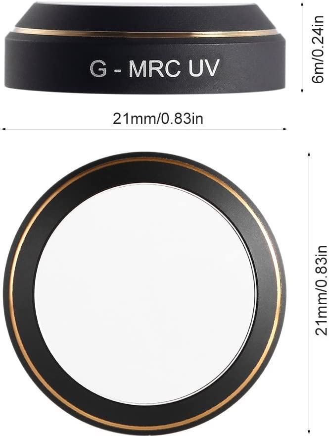 Rantow G-MRC UV HD Camera Lens Filters for DJI Mavic Pro Quadcopter Gimbal Accessories Lens Filter Accessory UV Filters for Drone Mavic Pro