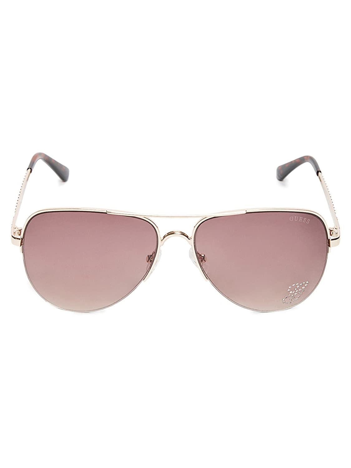 Amazon.com: GUESS Factory - Gafas de sol para mujer (metal ...