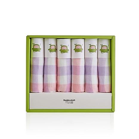 All Natural doble capa bebé paños toallas de baño, 100% algodón, fibra de