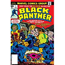 Black Panther No.1 Cover: Black Panther, Little, Abner and Princess Zanda Fighting Poster by Jack Kirby 24 x 36in