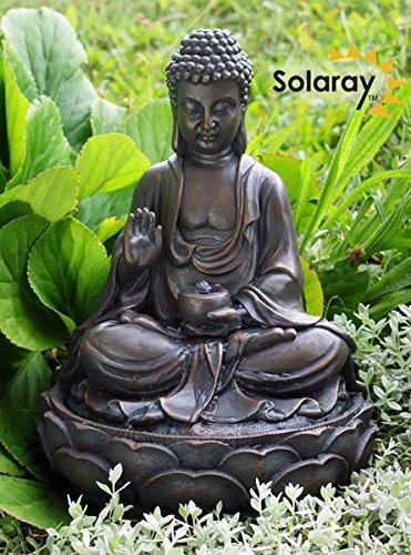 Anya Buddha Solar Water Feature by Eco Solaray Primrose WF3666