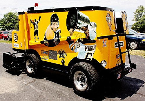 Custom Boston Bruins Themed Full Size Event Zamboni for sale  Delivered anywhere in Canada