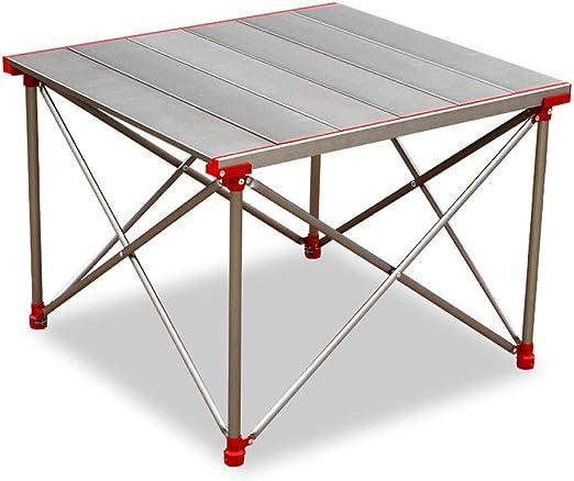WPCBAA Mesa de camping de primera calidad para aleación de ...