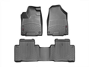 WeatherTech Cargo Liner for Acura MDX 2014-2019 Black Behind 2nd Row