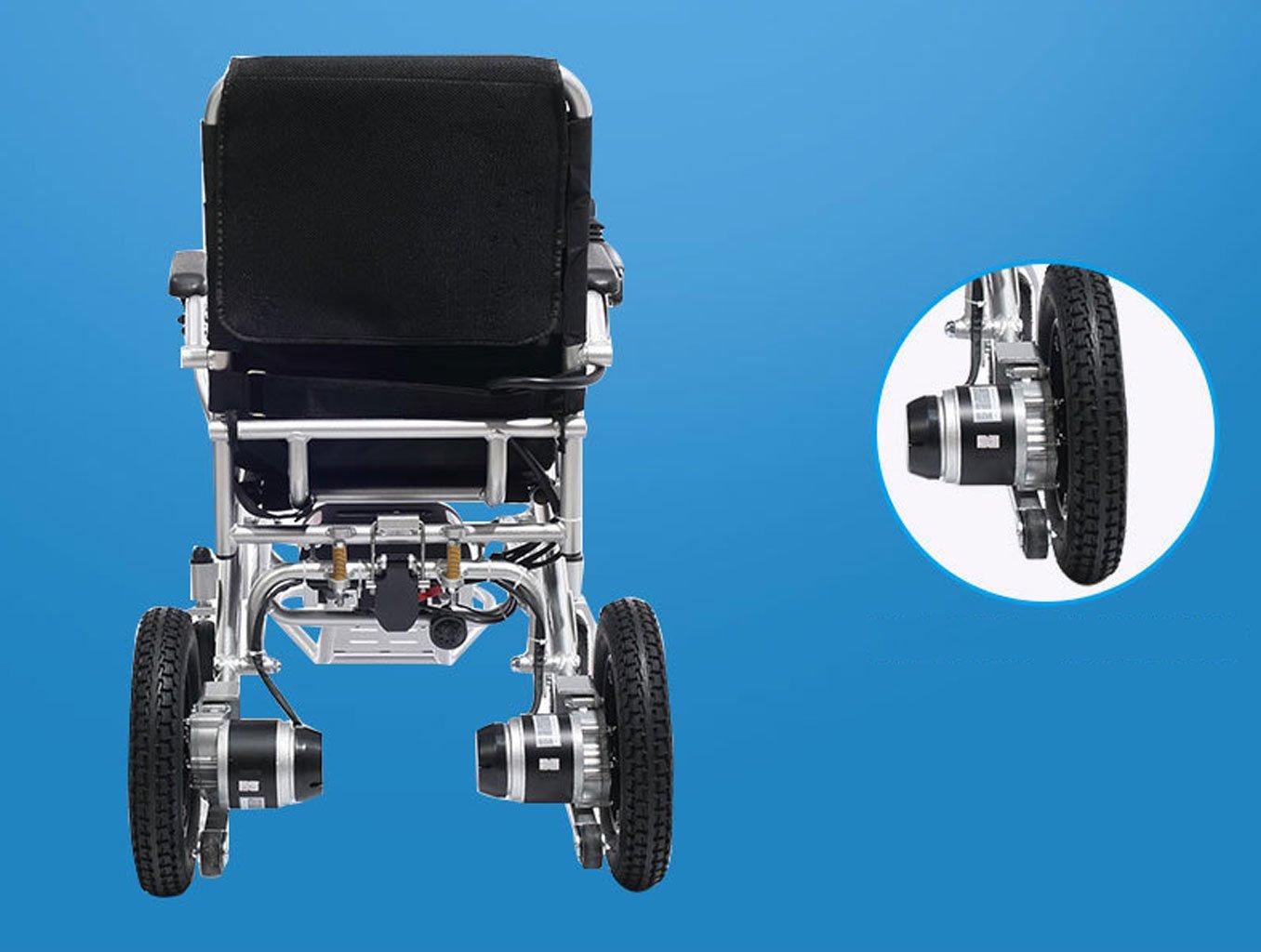 T-silla de ruedas Silla de ruedas eléctrica, peso ligero ...