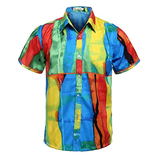 Belingeya-cl Camisa de Vestir Slim fit para Hombre Camisa ...
