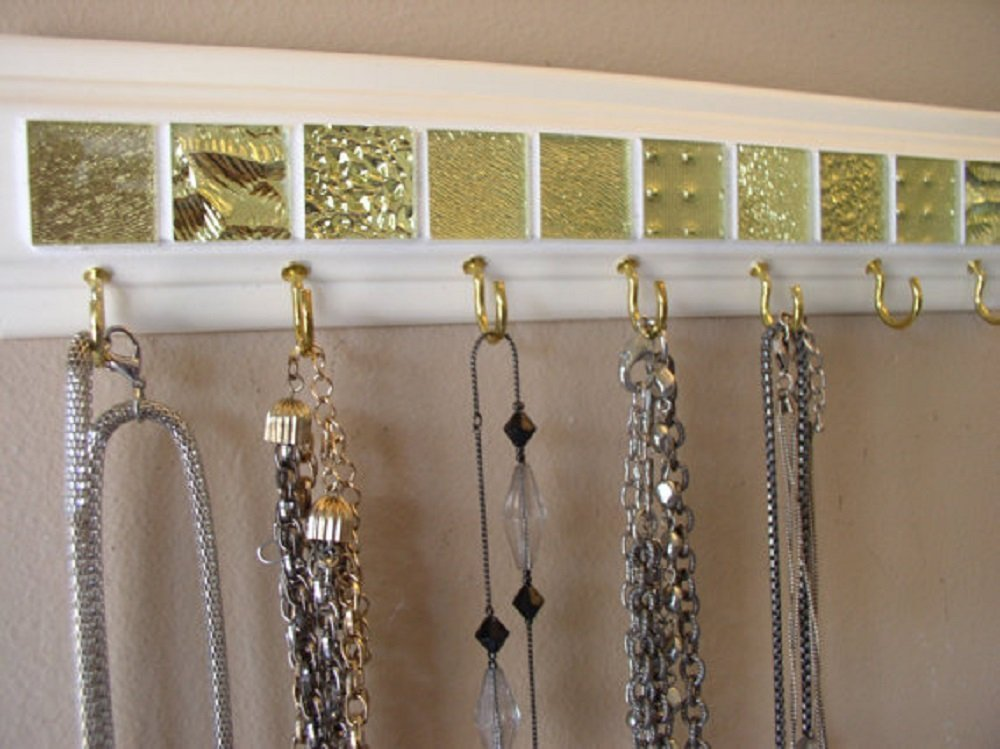 Available in 3 sizes. Wall hanger for Multiple Necklaces, Keys or Christmas stockings