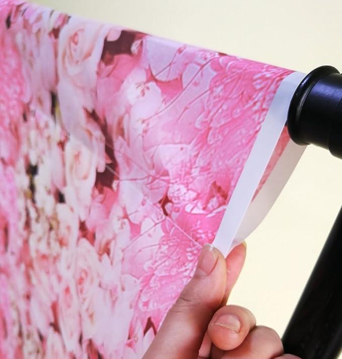 Foto Hintergrund 1 5 X 1 5 M Rosa Blumen Kamera