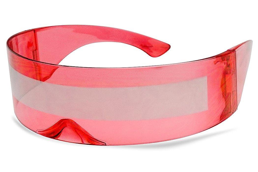 Amazon.com: Gafas de sol de una sola pieza para envolver ...