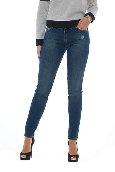 1f68270c8fb Emporio Armani Women s Jeans fit Push up 6Z2J23 2D2AZ-blue-32 Denim ...