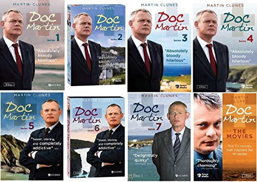 Doc Martin Ultimate Collection Seasons 1-7 + The Movies